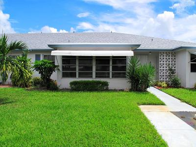 Delray Beach Single Family Home For Sale: 1155 S Drive Circle #C