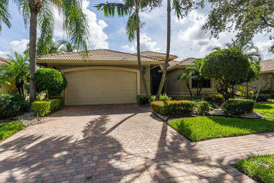 Boynton Beach Single Family Home For Sale: 11048 Via Amalfi