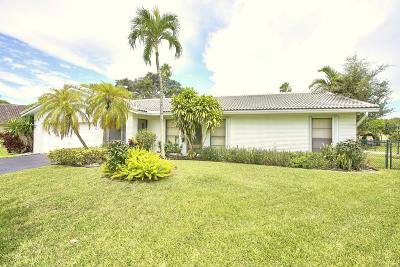 Coral Springs Single Family Home Contingent: 1539 NW 110th Terrace