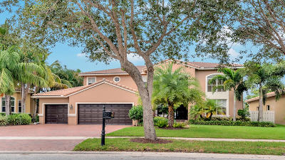 Lake Worth Single Family Home Contingent: 10360 Cypress Lakes Preserve Drive