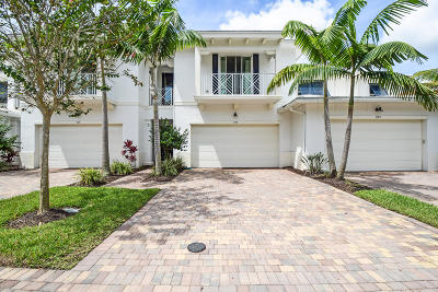 Palm Beach Gardens Townhouse For Sale: 1119 Piccadilly Street