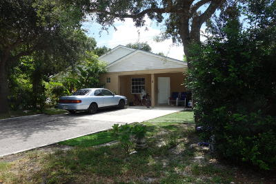 Jupiter Multi Family Home For Sale: 714 Center Street #5