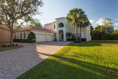 Palm Beach Gardens Single Family Home For Sale: 185 Sedona Way
