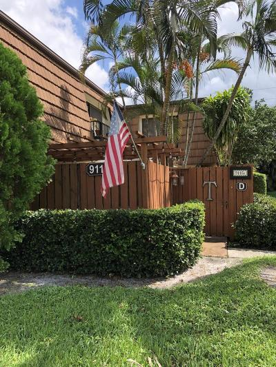 Davie Townhouse For Sale: 9116 SW 20th Court #D