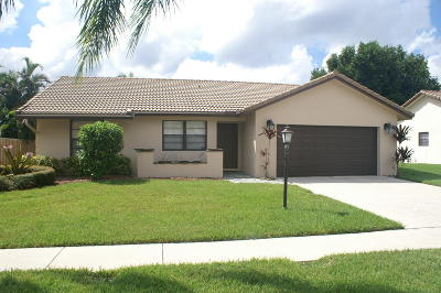 Boca Raton Single Family Home For Sale: 9080 Red Oak Lane