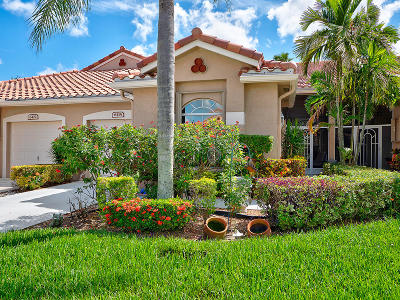Boynton Beach Single Family Home For Sale: 6415 Long Key Lane