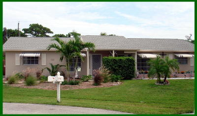 Jupiter Single Family Home For Sale: 909 Riverwood Lane