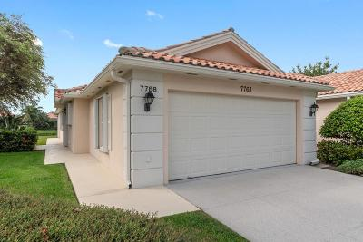 West Palm Beach Single Family Home Contingent: 7768 Pine Island Way