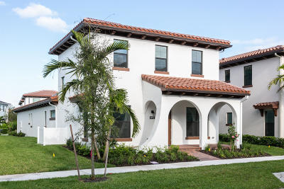 Palm Beach Gardens Single Family Home For Sale: 4072 Faraday Way
