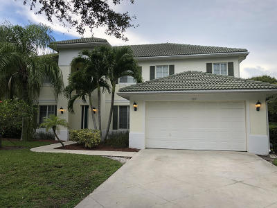 Jupiter Single Family Home For Sale: 1019 Egret Circle