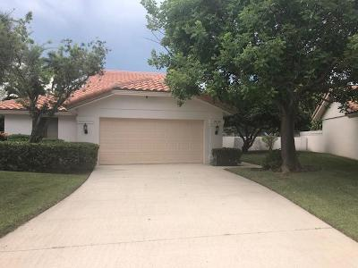 West Palm Beach Single Family Home For Sale: 2638 Mohawk Circle