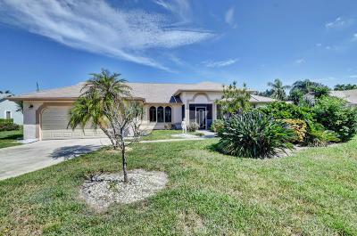 Delray Beach Single Family Home Contingent: 2415 Riviera Drive