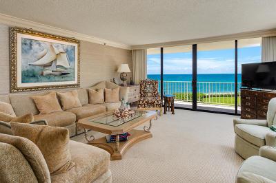 Palm Beach Condo For Sale: 3400 S Ocean Boulevard #4 G I I