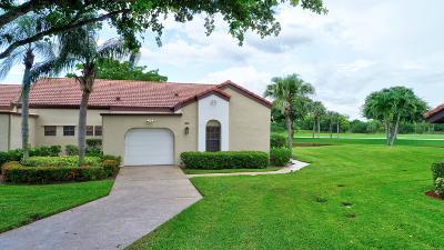 Boynton Beach Single Family Home For Sale: 8262 Mooring Circle