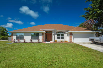 Port Saint Lucie Single Family Home For Sale: 2701 SE Rawlings Road