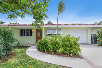 Boca Raton Single Family Home Contingent: 410 NE 36th Street NE