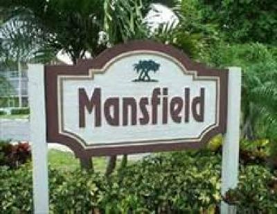 Boca Raton Condo For Sale: 153 Mansfield D