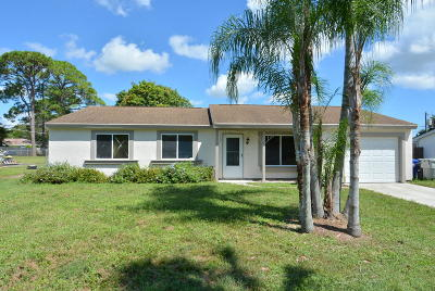 Vero Beach Single Family Home For Sale: 690 25th Street SW