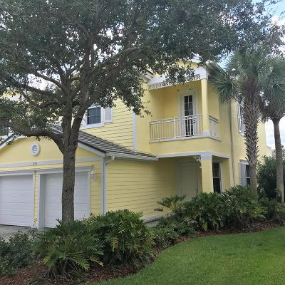 Fort Pierce Townhouse For Sale: 507 Mariner Bay Boulevard