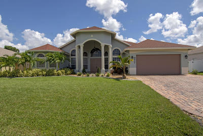 Port Saint Lucie Single Family Home For Sale: 6447 NW Frenze Street
