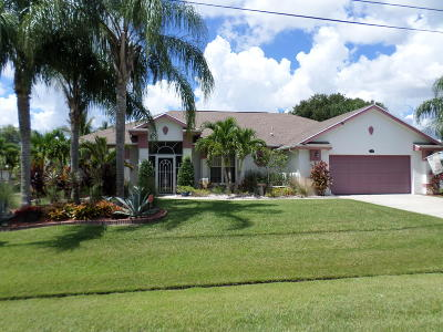 Port Saint Lucie Single Family Home For Sale: 2338 SE West Blackwell Drive