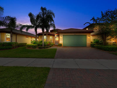 Port Saint Lucie Single Family Home Contingent: 11310 SW Barton Way