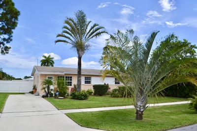 West Palm Beach Single Family Home For Sale: 340 Beretta Court