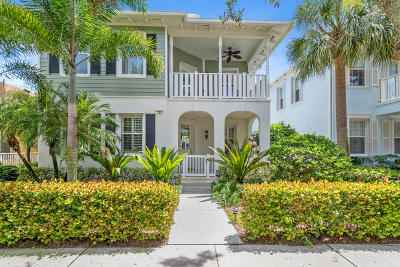 Jupiter Single Family Home Contingent: 223 Caravelle Drive
