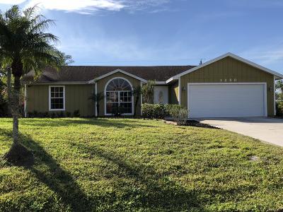 Port Saint Lucie Single Family Home For Sale: 1250 SW Janette Avenue