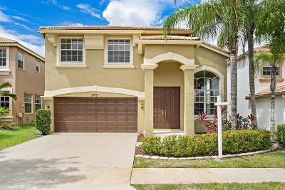 Royal Palm Beach Single Family Home Contingent: 1573 Briar Oak Drive