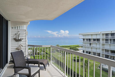 Palm Beach Condo For Sale: 3250 S Ocean Boulevard Boulevard #510-S