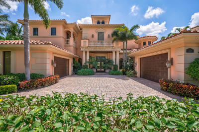 Palm Beach Gardens Single Family Home For Sale: 232 Via Palacio