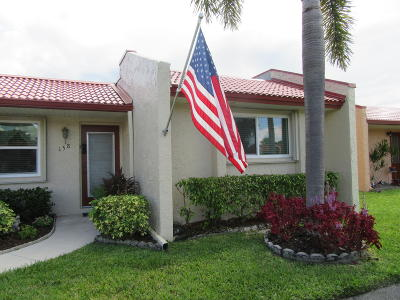 West Palm Beach Single Family Home For Sale: 158 Lake Barbara Drive