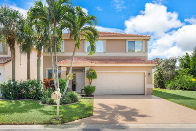 Boca Raton Single Family Home For Sale: 10060 Country Brook Road