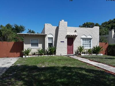 West Palm Beach Single Family Home For Sale: 3114 Greenwood Avenue