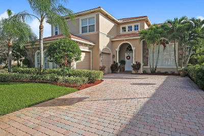 Boynton Beach Single Family Home For Sale: 8697 Cobblestone Point Circle