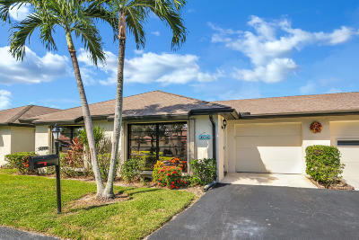 Boynton Beach Single Family Home For Sale: 4972 Eaglewood Road #A