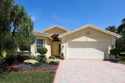 Lake Worth Single Family Home For Sale: 7566 Cape Verde Lane