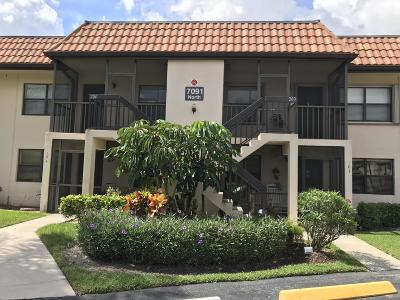 Lake Worth, Lakeworth Rental For Rent: 7091 Golf Colony Court #203