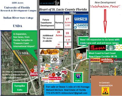 Fort Pierce Residential Lots & Land For Sale: 00 Peters Rd