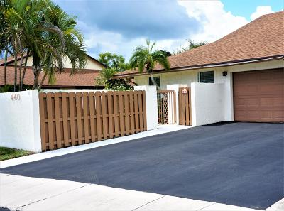 Delray Beach Single Family Home For Sale: 440 SW 29th Avenue