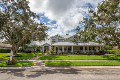 Jupiter Single Family Home For Sale: 5876 River Isle Road