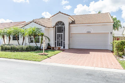 Palm Beach Gardens Single Family Home For Sale: 10131 Caoba Street