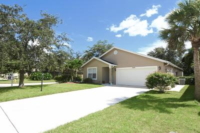 Stuart Single Family Home Contingent: 2486 SW Impala Way