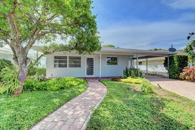 Lake Worth Single Family Home Contingent: 215 Fordham Drive