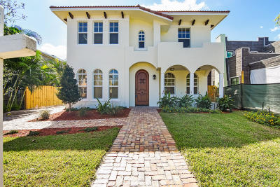 West Palm Beach Single Family Home For Sale: 170 Greenwood Drive