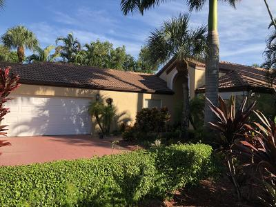 Boca Raton Single Family Home For Sale: 22602 Esplanada Drive
