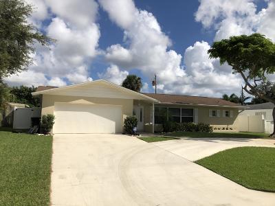 Palm Beach Gardens Single Family Home For Sale: 3597 Cosmos Street