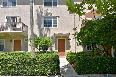 Jupiter Townhouse For Sale: 111 Osceola Lane