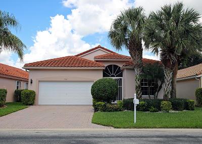 Boynton Beach Single Family Home For Sale: 5181 Bayleaf Avenue